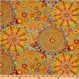 Kaffe Fassett Millefiore Orange Fabric