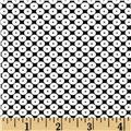 Dots Right Sequin Dot White/Black