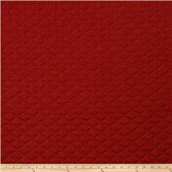Fabricut Hyatt Matelasse Ruby Red