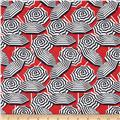 Kanvas Cabana Umbrella Stripe Red