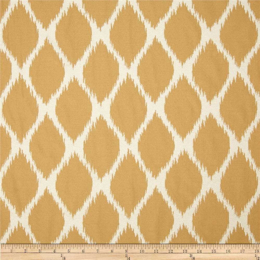 Golding Echo Upholstery Jacquard Honey