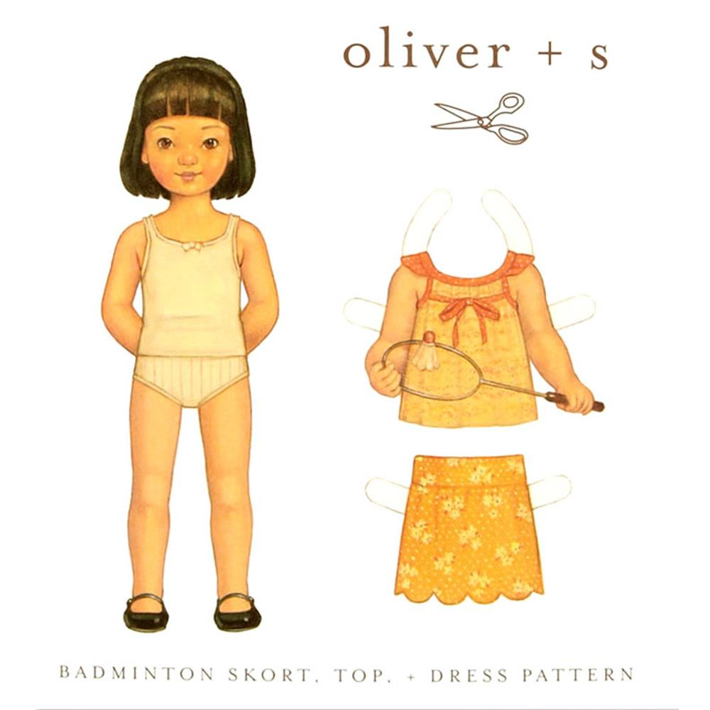 Oliver + S Badminton Skort, Top + Dress 6M-4T