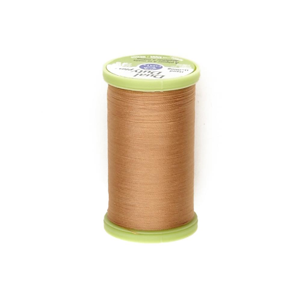 Coats & Clark Dual Duty Plus Hand Quilting Thread 325 Yds.Golden Tan