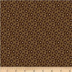 Judie's Album Quilt Abstract Calico Brown