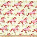 Cotton & Steel Mustang Pink
