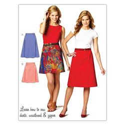 Kwik Sew Misses Kwik Start Skirts (3877) Pattern