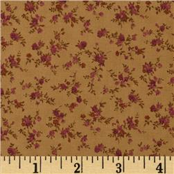 Tiny Roses Taupe