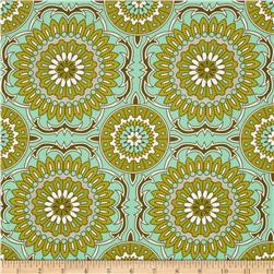 Joel Dewberry Bungalow Home Decor Sateen Doily Forest