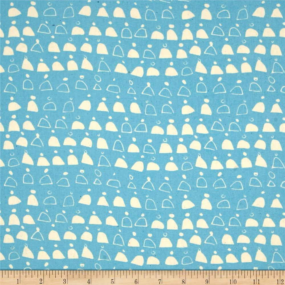Cloud 9 Organic Rain Walk Swell Canvas Blue