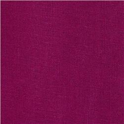 Stonewashed Linen Fuchsia Purple Fabric