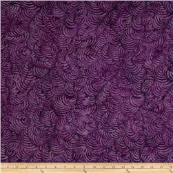 Tonga Batiks Napa Feather Plume Purple