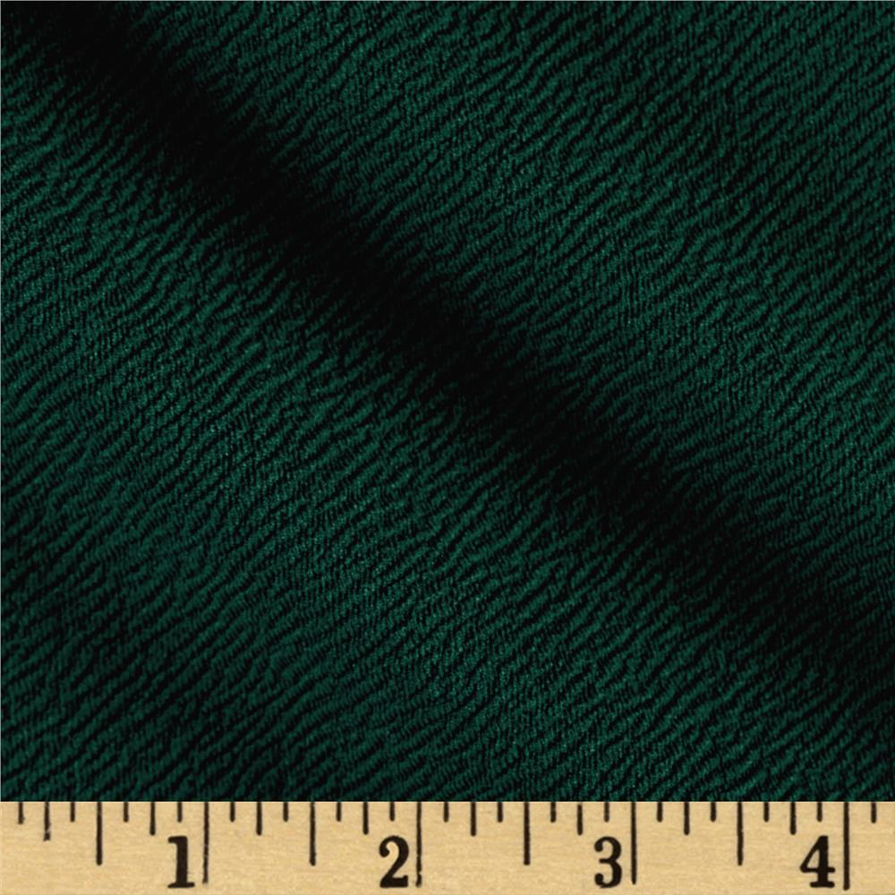 Double Knit Jacquard Hunter Green