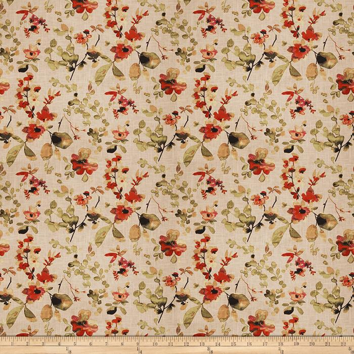 Vern Yip Floral Spice Fabric By The Yard