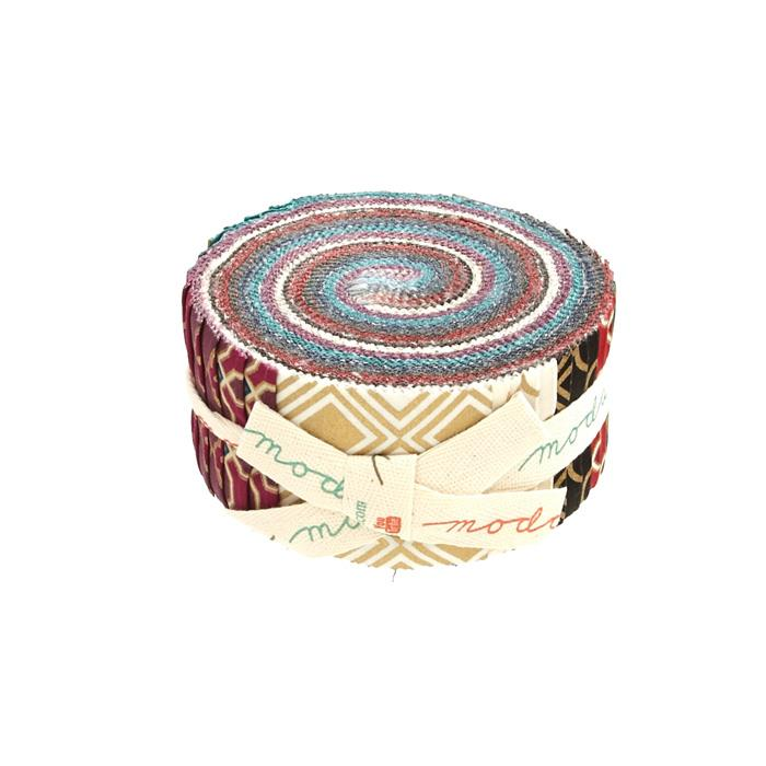 Moda Chandelier Metallic 2.5 In. Jelly Roll Multi