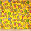 Fabric Fiesta Fiesta Toss Gold