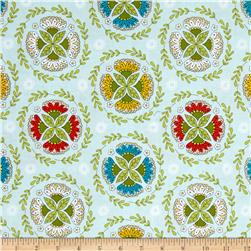 Riley Blake Dutch Treat Wreath Blue