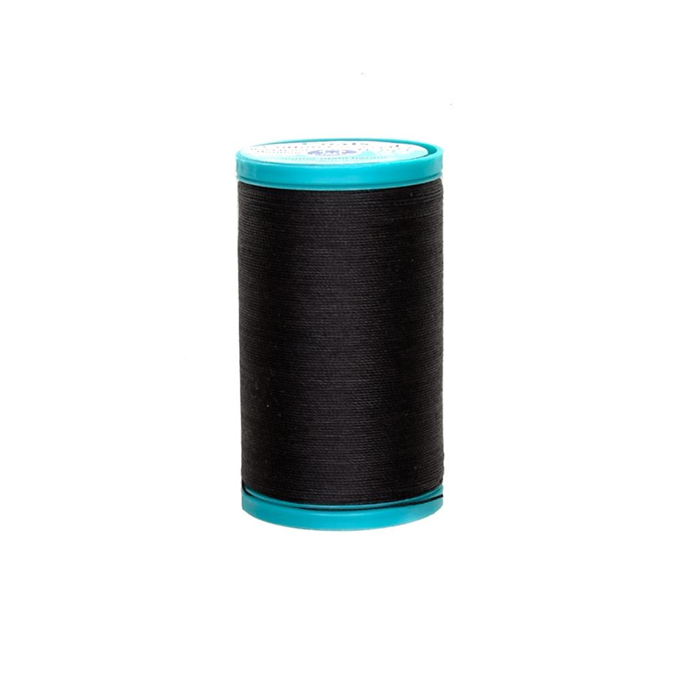 Coats & Clark Covered Cotton Bold Hand Quilting Thread Black