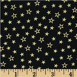 Pearle Gold Stars Black/Gold Pearl