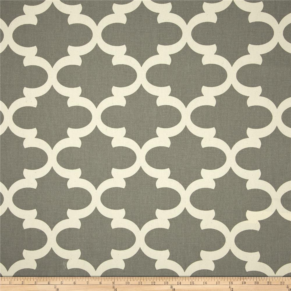 Premier Prints Fynn Natural/Dark Grey