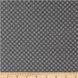 Cozies Flannel Large Check Grey