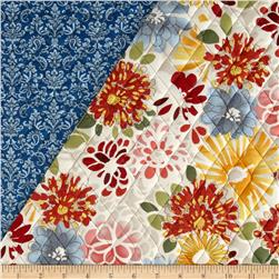 Vera Cruz Large Floral Quilted with Foam Multi/Cream