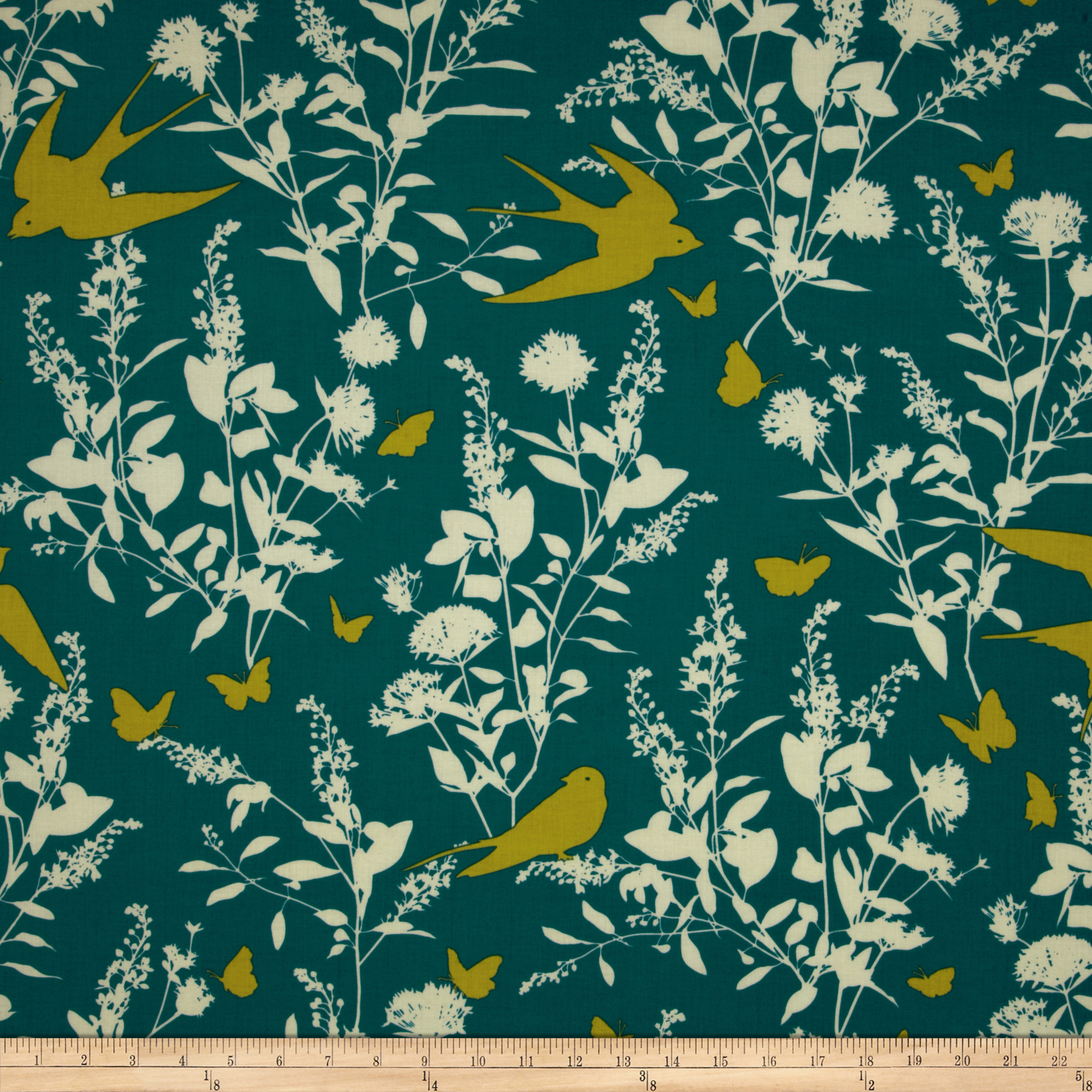 Joel Dewberry Bungalow Swallow Study Teal