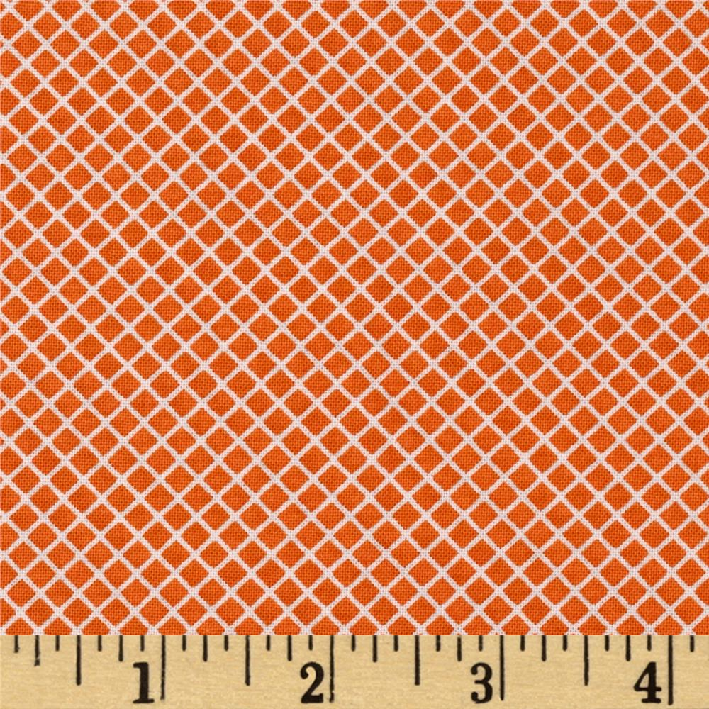 Kaufman Remix Lattice Orange