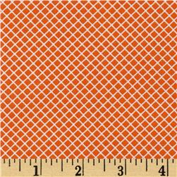 Robert Kaufman Remix Lattice Orange