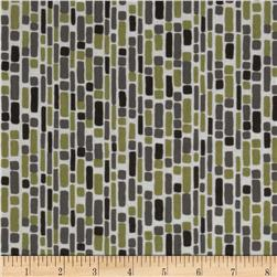 Annalee Geo Grey/Green Fabric