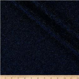 Telio Stretch Nylon Knit Metallic Diamond Blue/Black