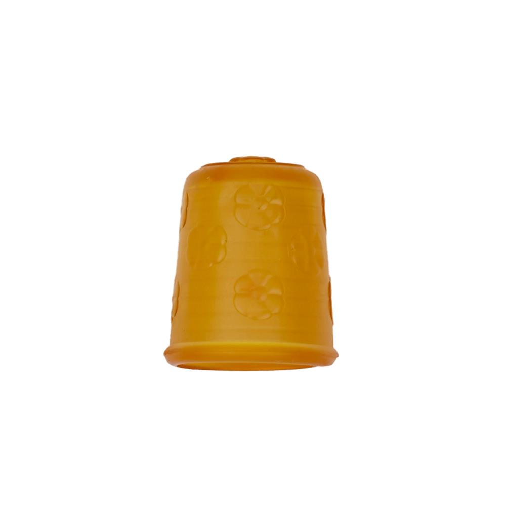 "Dill Rubberized Thimble 3/4"" Yellow"