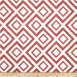 Robert Allen @ Home Switchback Jacquard Coral
