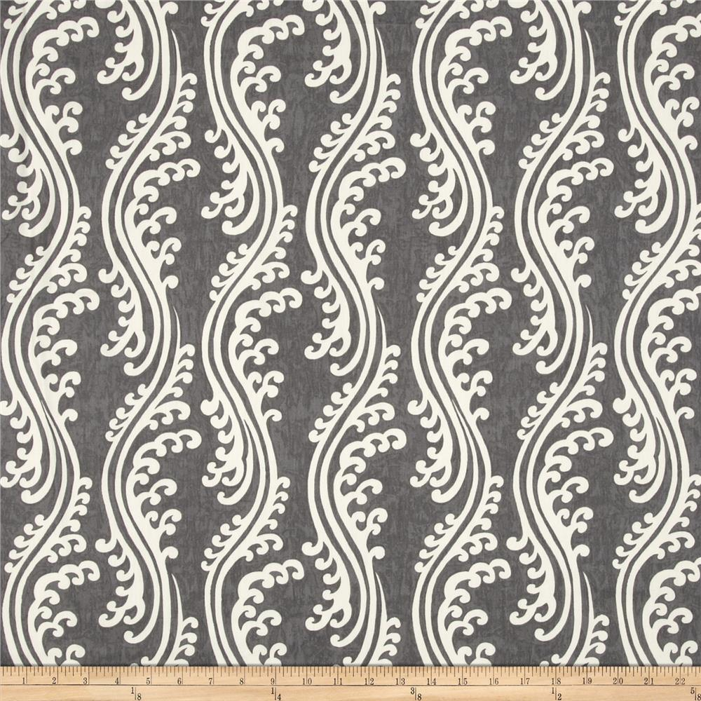 Waverly turning tides chintz indigo discount designer for Chintz fabric
