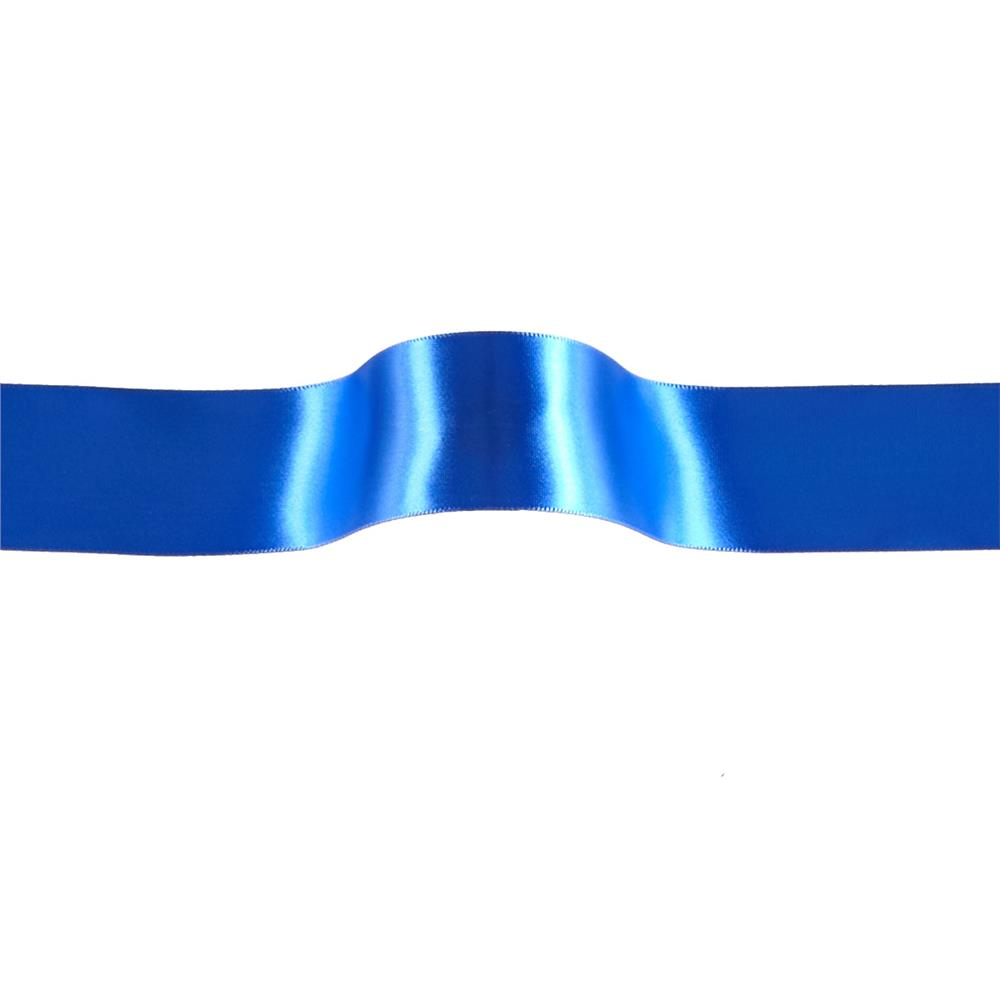 1 1/2'' Offray Single Face Satin Ribbon Royal Blue
