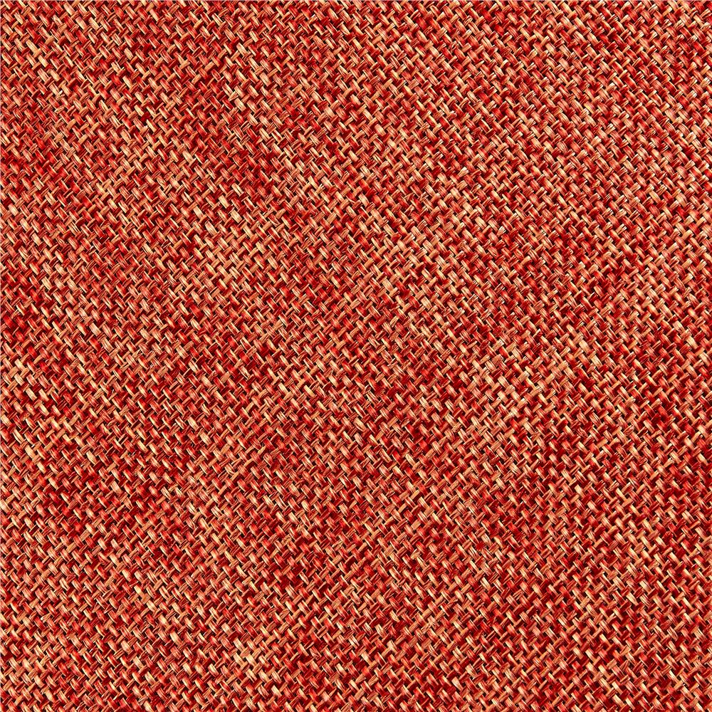 Vintage Poly Burlap Dark Orange Discount Designer Fabric