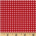 Riley Blake Small Gingham Red