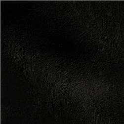 Faux Leather Wallaby Black Fabric