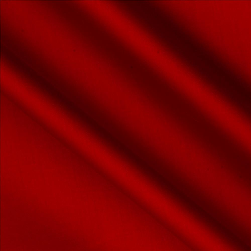 118'' Fabri-Quilt Cotton Sateen Red Fabric By The Yard