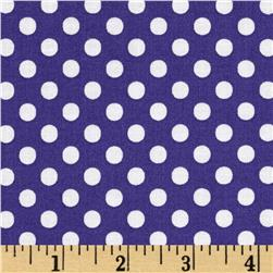 Moda Dot .Dot.Dash-! Dots Everywhere Purple