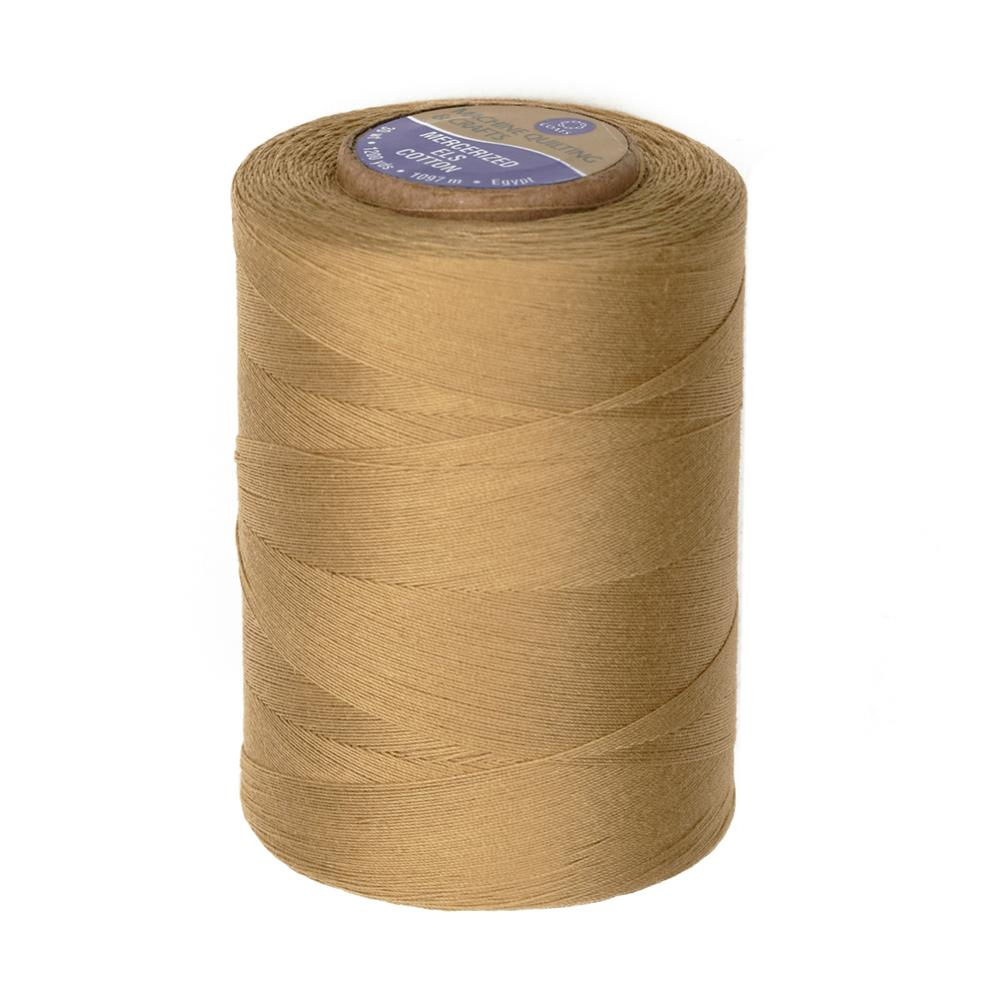 Cotton Machine Quilting Thread 1200 YD Camel