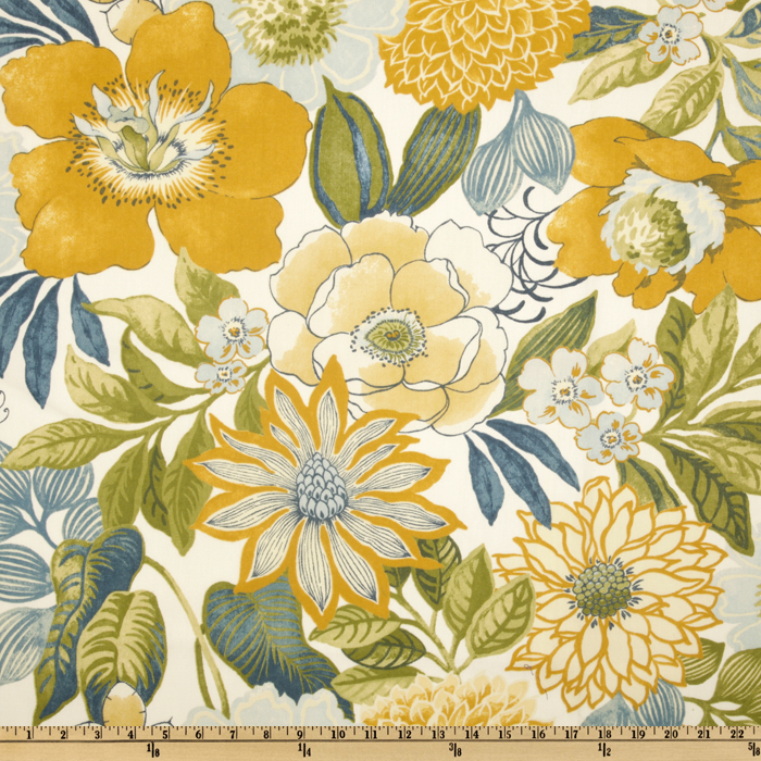 Swavelle/Mill Creek Indoor/Outdoor Jolene Floral Provence Fabric