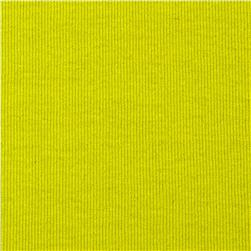 T-Knit Ribbing Lime