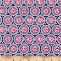 Paradise Medallion Dark Purple