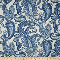 Duralee Home Lucy Paisley Natural/Blue