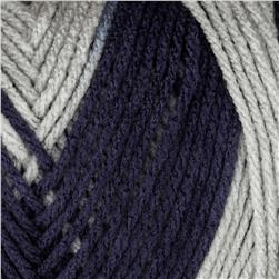 Red Heart Team Spirit Yarn (944) Navy/Grey