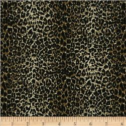 Leopard Print Brown/Black