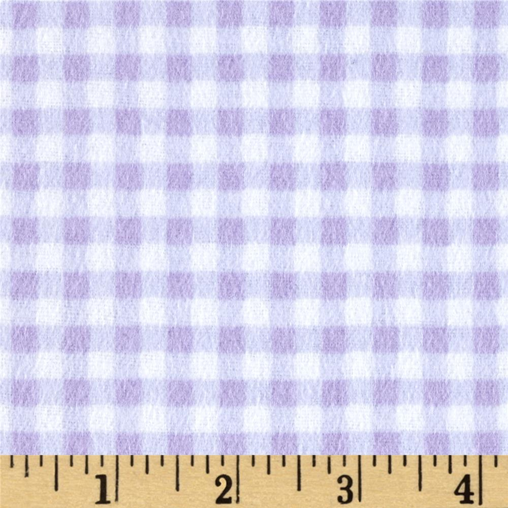 Flannel Basic Plaid Lavender
