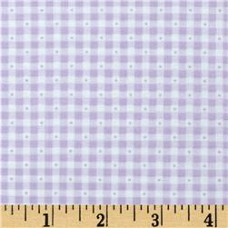 Sorbets Gingham Light Purple