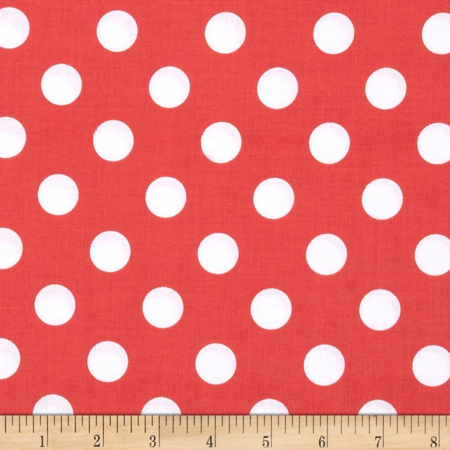 Riley Blake Medium Dots Rouge
