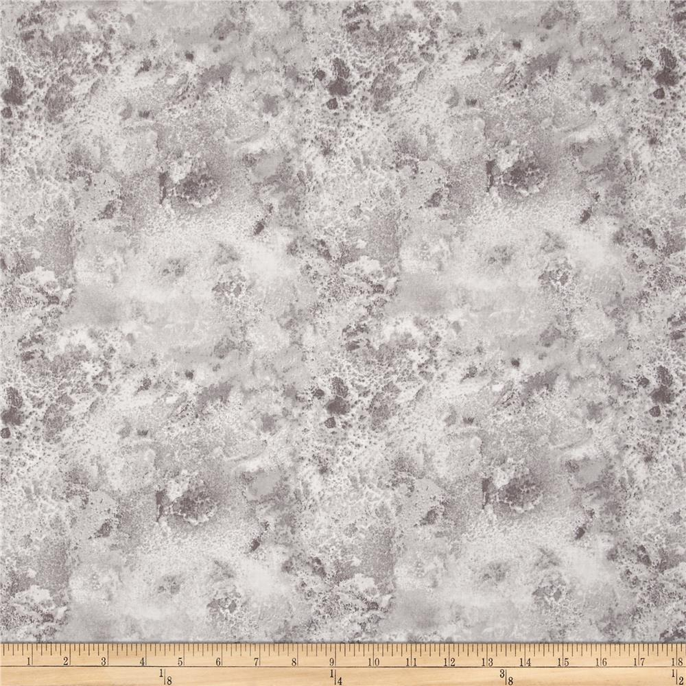 "108"" Wide Essentials Quilt Back Cosmos Light Gray"
